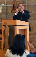 At Aquinas Lecture, Bishop Solis describes 40 years of service to God's people