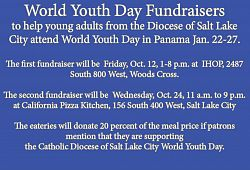 Fundraisers for locals to attend World Youth Day