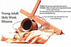 Diocese offers Holy Week mission for young adults